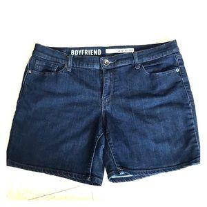 DKNY Boyfriend Jean Shorts